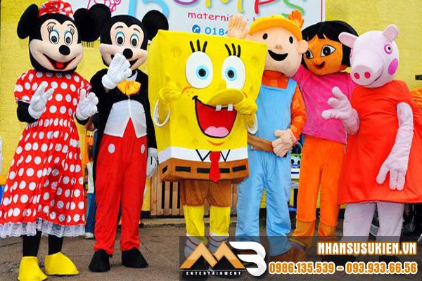 Nhân vật hoạt hình, mascot