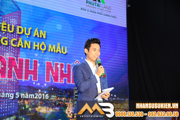 Thanh Tùng VTV - MC Thời tiết đắt show Event