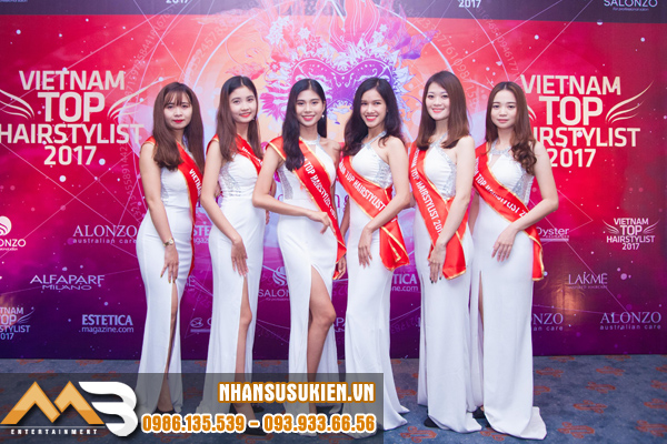 Nhân sự MB Entertainment gây ấn tượng mạnh tại VietNam Top Hair stylist 2017