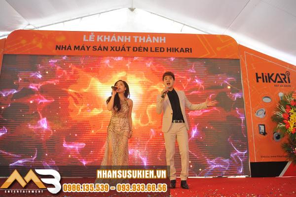 Dàn nghệ sĩ đắt show của MB Entertainment hội ngộ trong sự kiện lễ khánh thành nhà máy sản xuất đèn LED HIKARI